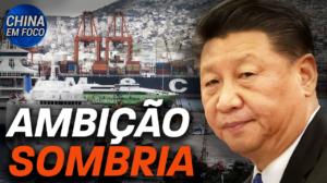 China quer transformar portos em armas