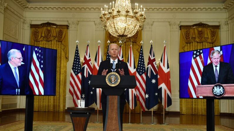 EUA, Austrália e Reino Unido firmam pacto histórico de defesa contra a China