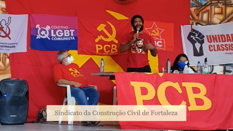 Em evento, comunista incentiva o 'ódio de classes' e a violência contra Ministros do STF