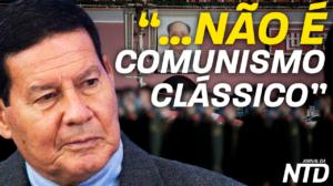 O movimento comunista se encerrou? É o que disse o vice-presidente Hamilton Mourão