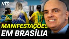 Neste 7 de setembro, protestos irromperam por todo o Brasil