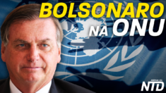 Bolsonaro discursa na ONU