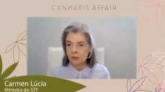 'Essa é uma questão de saúde', diz Cármem Lúcia em seminário sobre Cannabis