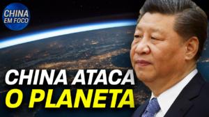 O impacto da China nos danos ao meio ambiente