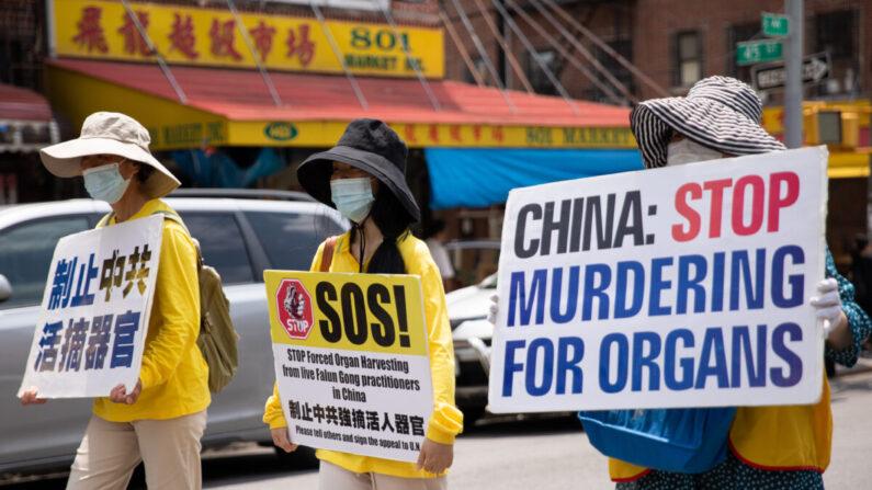 China não responde às perguntas da ONU sobre extração forçada de órgãos, afirma ONG