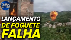 Destroços de foguete caem em área residencial; Gen. Mark Milley defende sua ligação para a China
