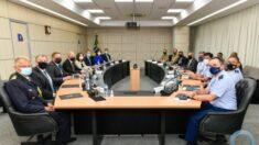 Delegação Sueca visita Ministério da Defesa