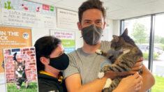 Gato se reune com sua família depois de ter desaparecido por 10 anos na Escócia