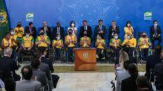 Presidente recebe atletas olímpicos e paralímpicos no Palácio