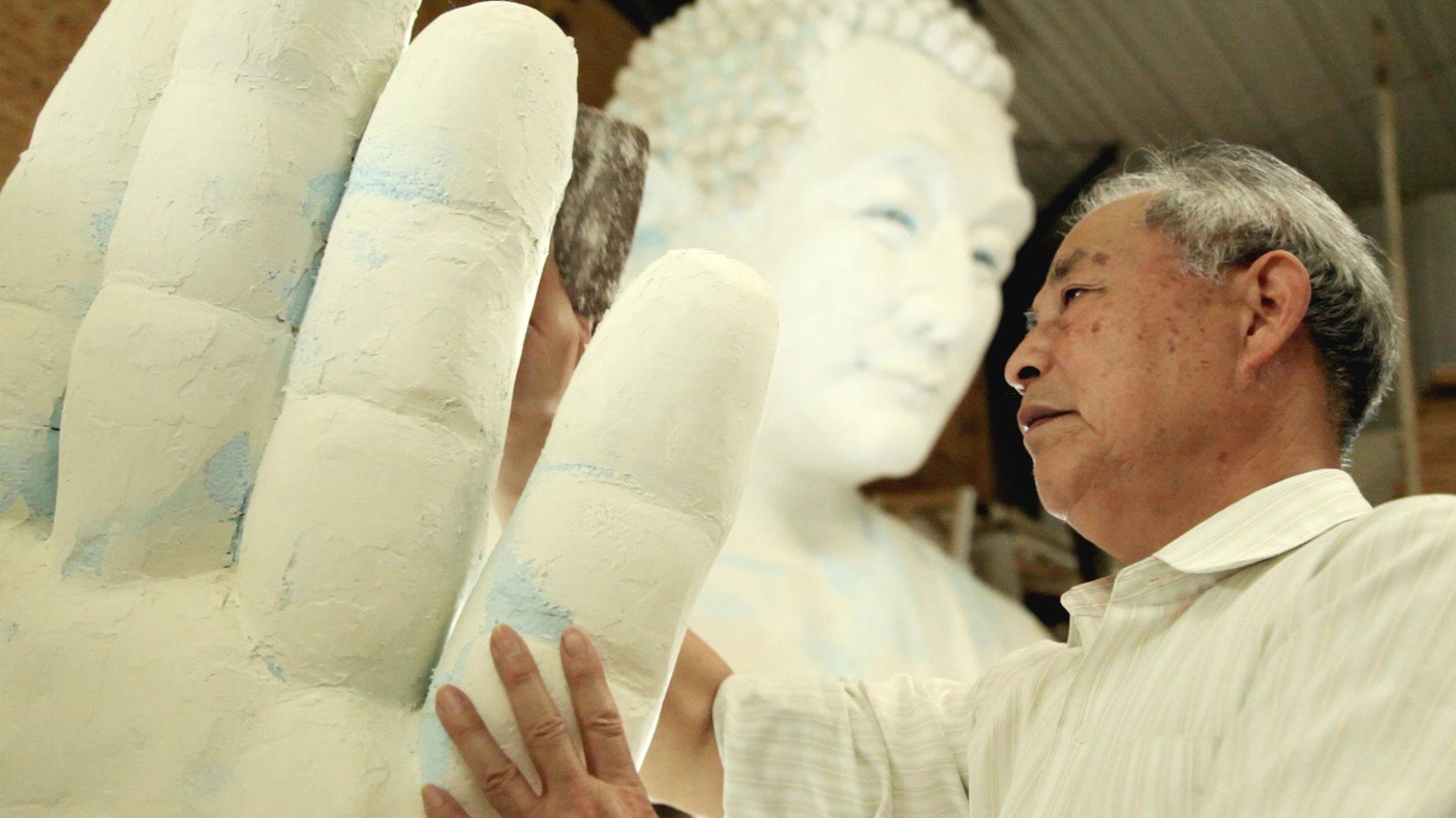 Zhang Kunlun, fundador da Exposição Internacional da Arte de Zhen-Shan-Ren (Verdade, Compaixão, Tolerância)