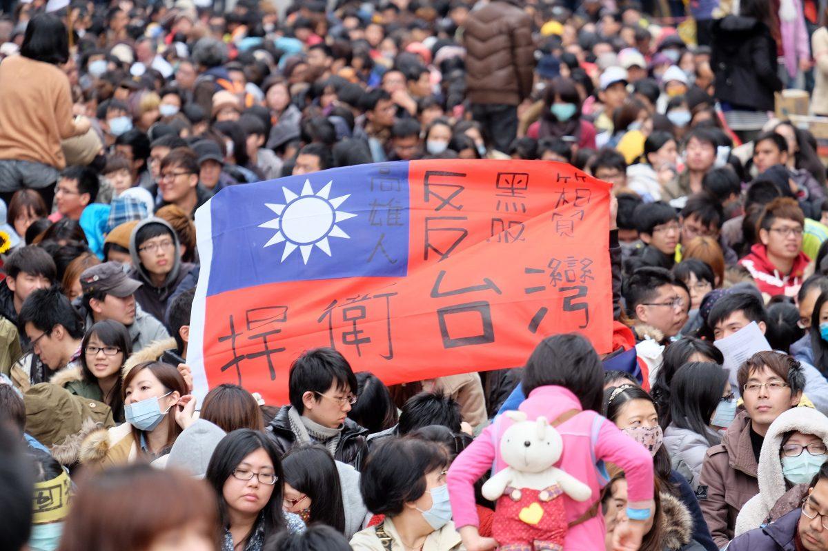 TAIWAN-CHINA-POLITICS-TRADE-PROTEST