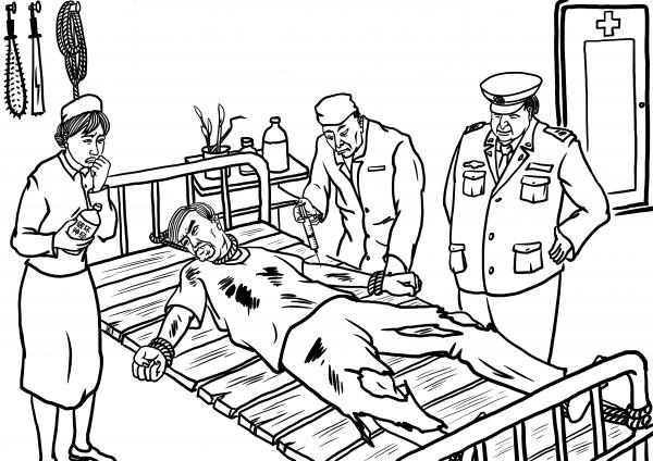 Injeções com drogas psicotrópicas prejudiciais (Minghui.org)