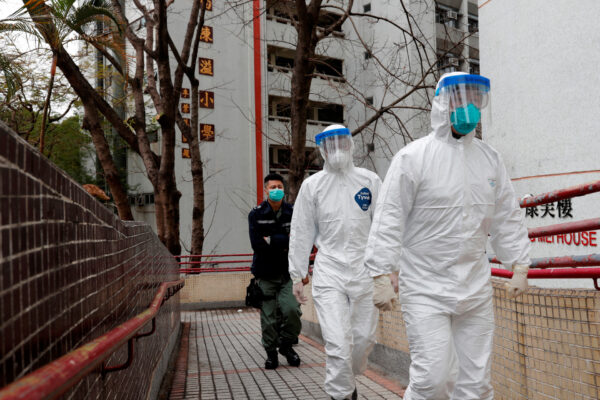 evacuate residents hong kong