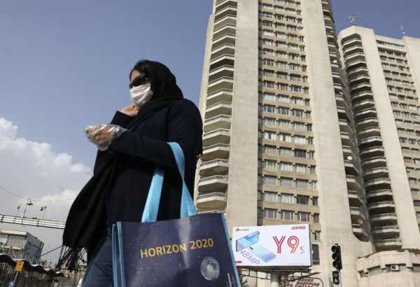 Virus Outbreak Mideast Iran