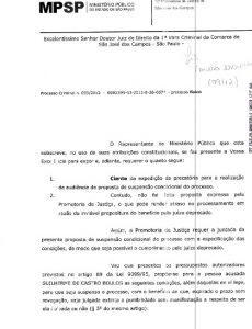 Processo Criminal de Boulos