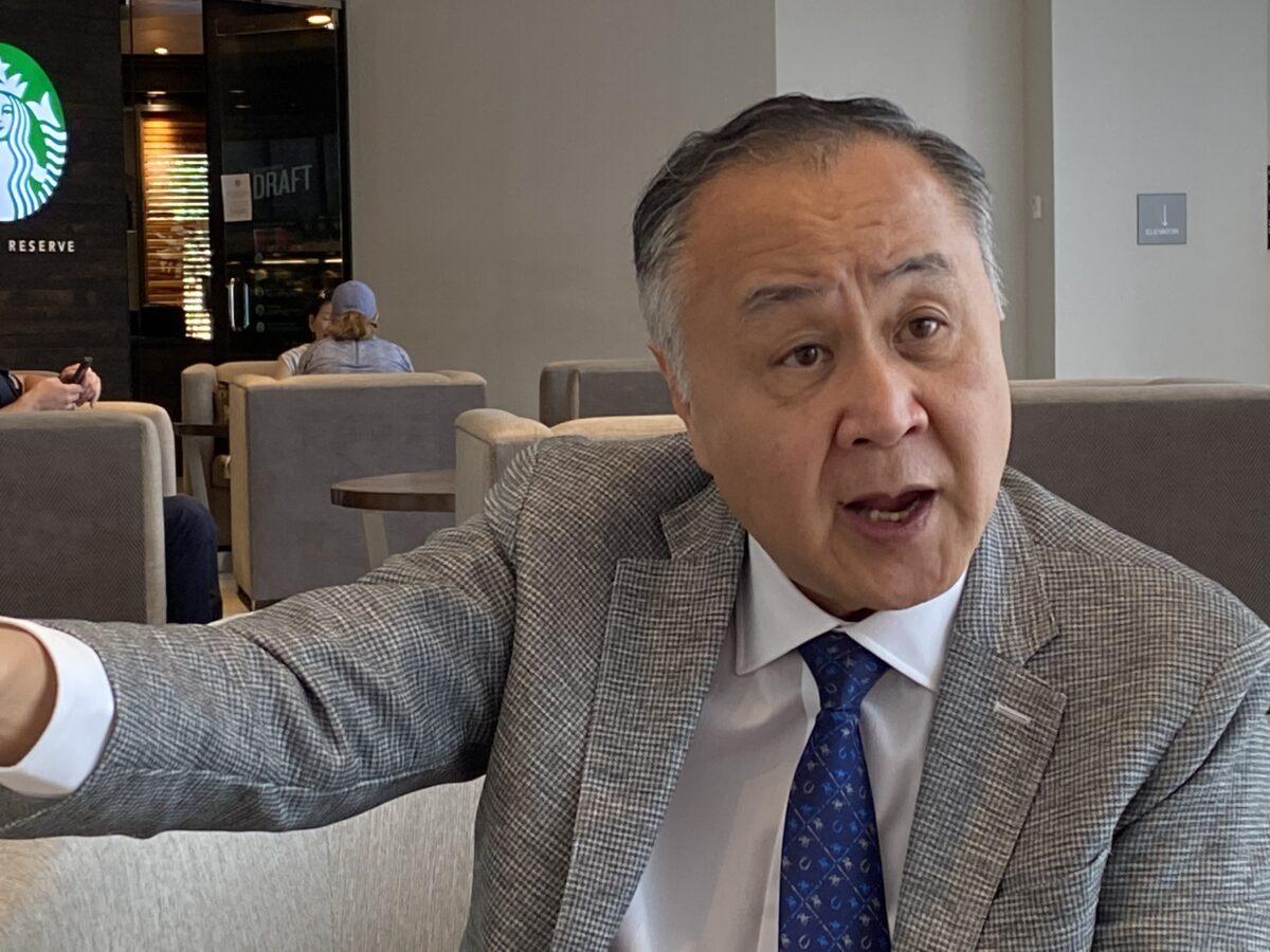 Elmer Yuen em Washington em 12 de junho de 2020 (Sean Lin / Sound of Hope)
