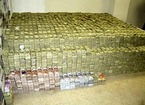 Uma pilha de US $ 205 milhões em dinheiro é encontrada na sala de um distribuidor químico chinês que mora no México (DOJ)