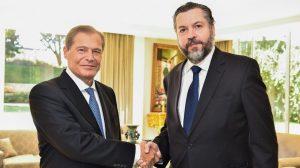 Chanceler brasileiro visita embaixador e reafirma apoio logístico ao Líbano