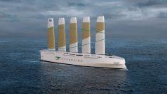 Novo navio de carga de alta tecnologia da Suécia será o mais alto navio eólico do mundo