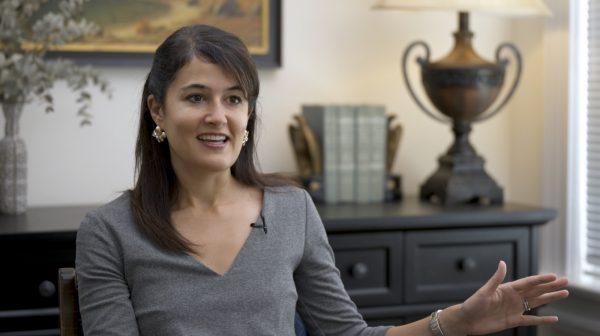 Rachel Bovard, diretora sênior de política do Conservative Partnership Institute, Washington, 4 de novembro de 2020 (Tal Atzmon / The Epoch Times)