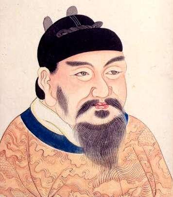 Imperador Gaozong. Imagem (Domínio Público/Wikimedia Commons)