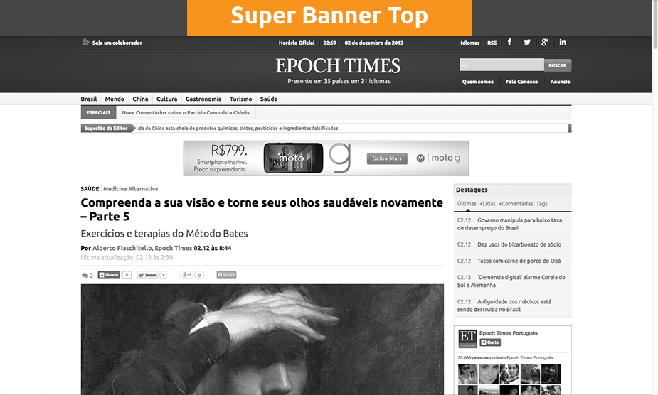 Super Banner Top - Matéria (Epoch Times)