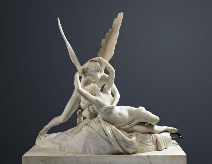 Psiquê (1777), Museu do Louvre.