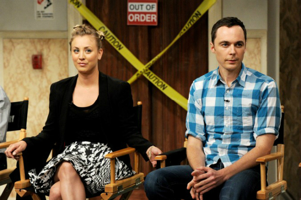 Atores do seriado The Big Bang Theory (Kevin Winter/Getty Images)